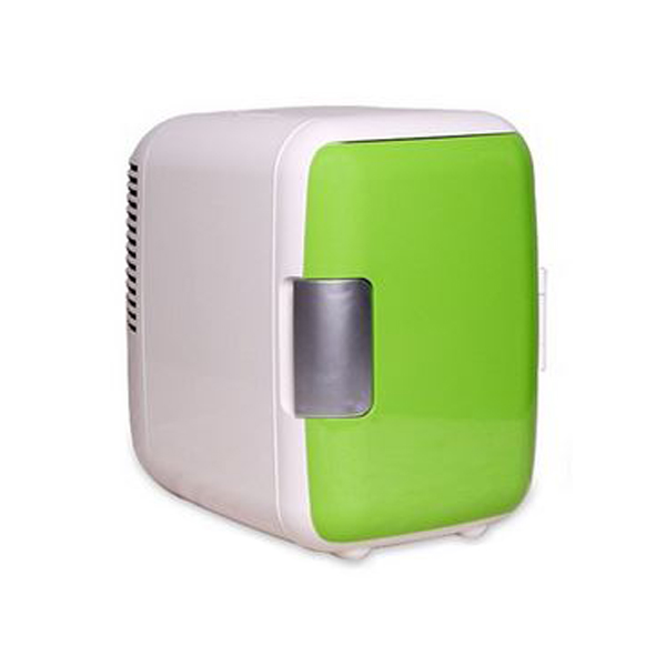 4 Liter Personal Mini Fridge Cooler and Warmer for Car and Home - Green