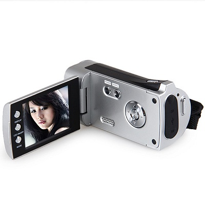 4X Digital Zoom HD 720P Digital VideoCamera DV - 328 - Silver