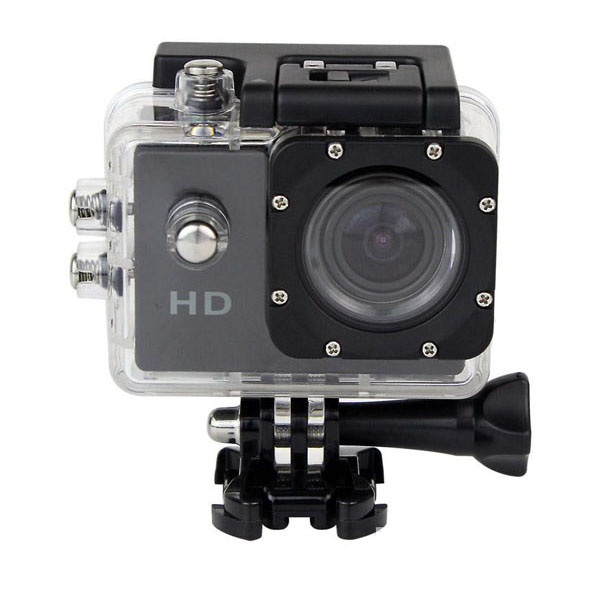 5MP Waterproof Sports Action Cam Camcorder - Black