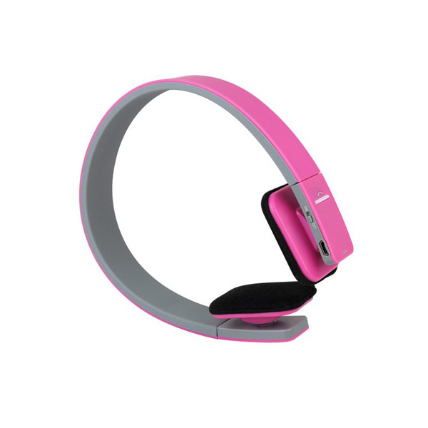 AEC Smart Bluetooth Stereo Headphone - Pink