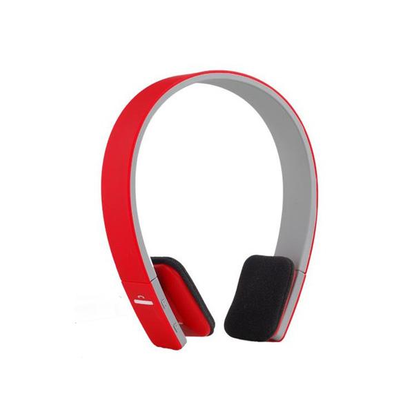 AEC Smart Bluetooth Stereo Headphone - Red