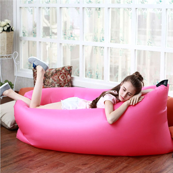 Air Bed Chair Bag - Pink