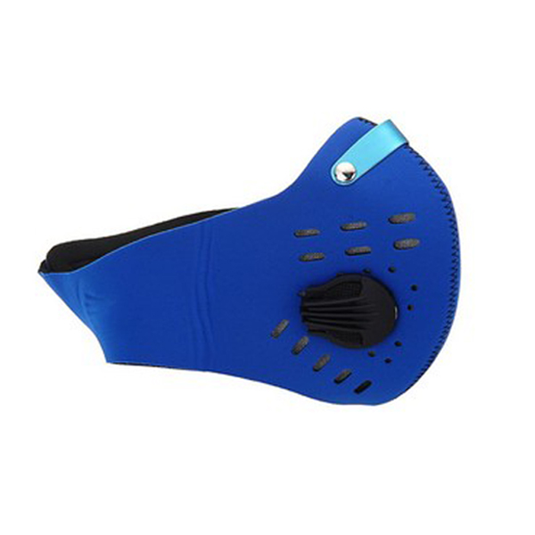 Anti Dust Pollution Cycling Mask - Blue