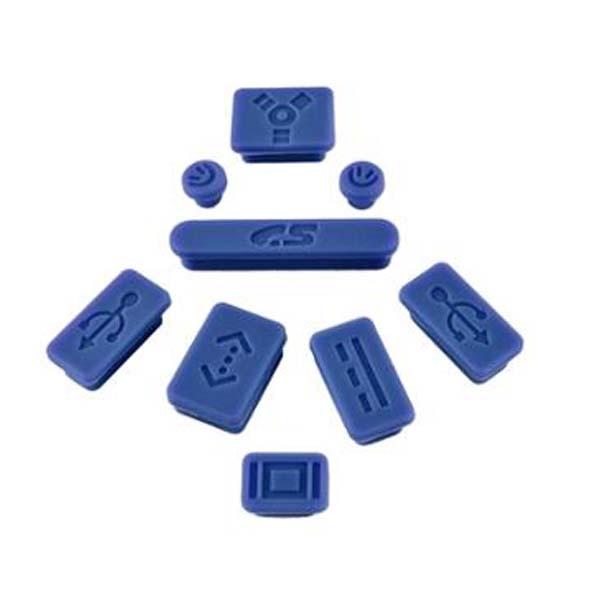 Apple Anti Dust Plug Kit For Macbook Air/Pro - Blue