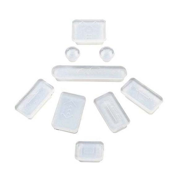 Apple Anti Dust Plug Kit For Macbook Air/Pro - White