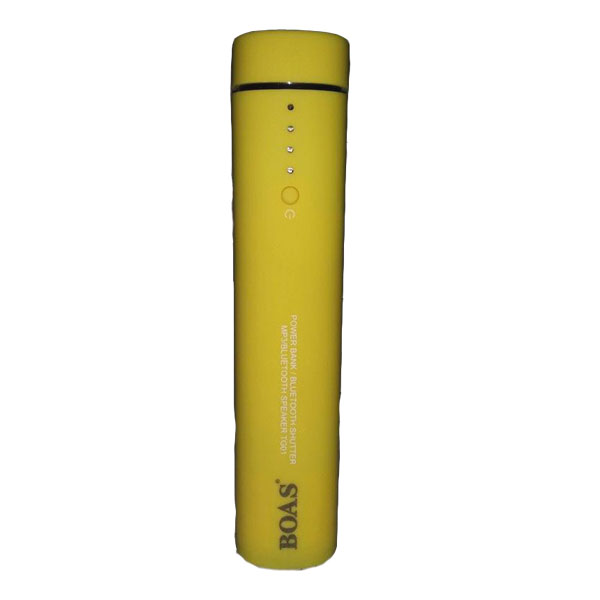 Boas TG01 3 in 1 Power Bank With BT Speaker - Yellow