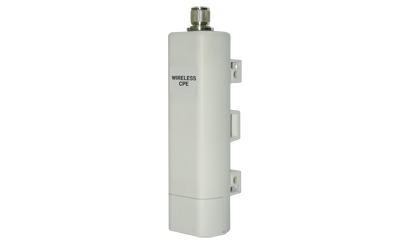 1 Watt Outdoor Access Point With 2 LAN Ports - White