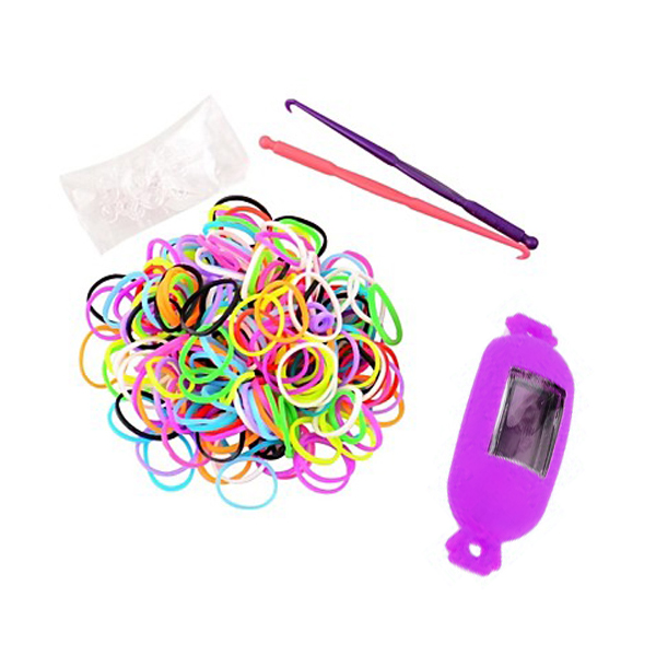 Candy Style Loom Watch Bracelet - Purple