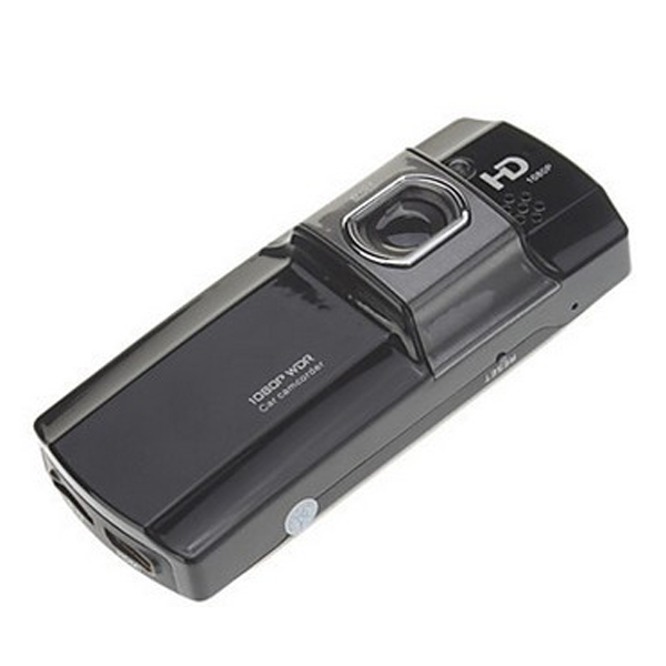 2.7 Inch 1080P 148 Degree Wide Angle Dual Camera Car Camcorder -Black