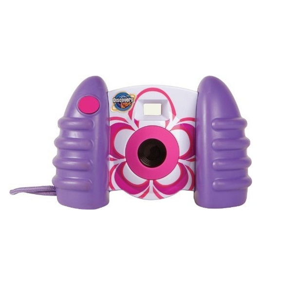 Discovery Kids Digital Camera with Video - Purple White