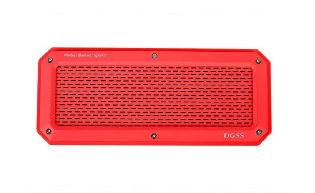 Doss A2 Alonzo Portable Speaker - Red