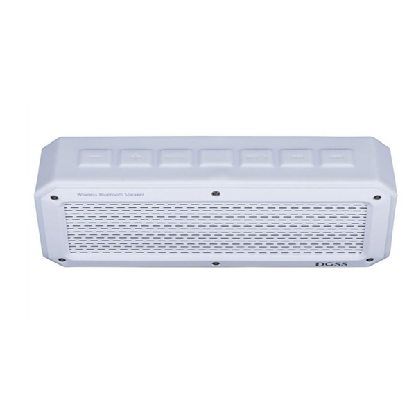 Doss A2 Alonzo Portable Bluetooth Speaker - White