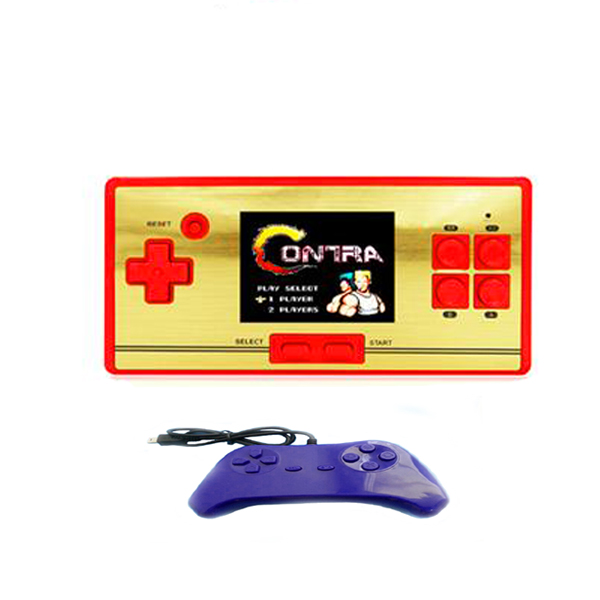 Family Computer  Pocket 30 With Player 2 Gamepad - Red