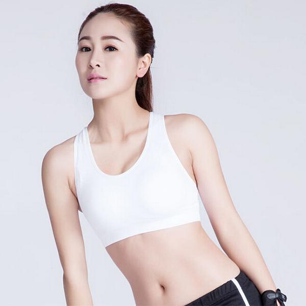 Female Sport Bra Medium - White