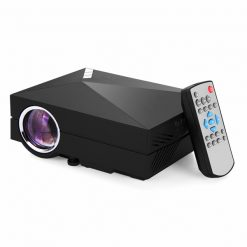 Mini LED 1000 Lumens Projector With Wifi  - Black