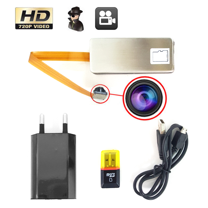 HD Motion Detection Digital Video Recorder 720p - Silver