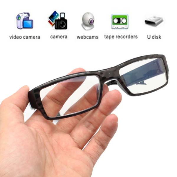 HD Eyeglass Without Pin Hole Camera