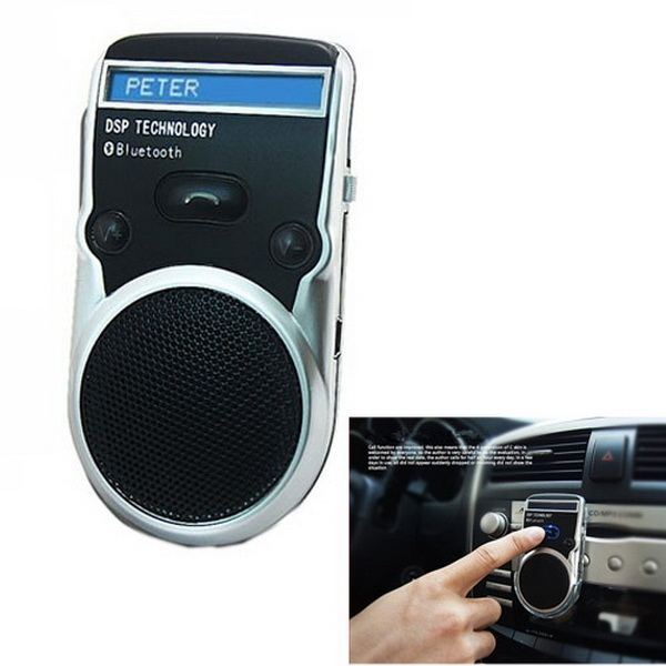 Handsfree Solar Bluetooth Car Kit