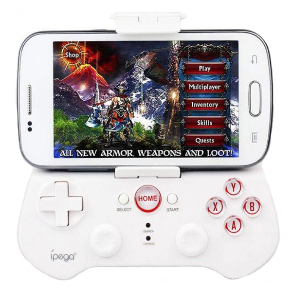 Ipega Bluetooth 3.0 Wireless Game Controller - White