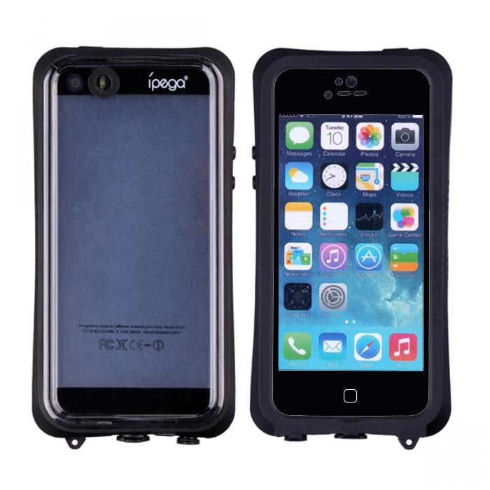 Ipega Waterproof Case for Iphone 6 - Black