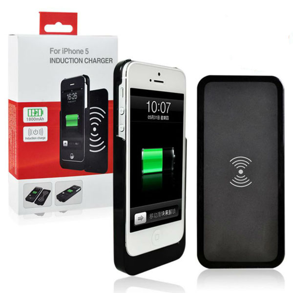 Ipega Wireless Induction Charger for iPhone5 - Black