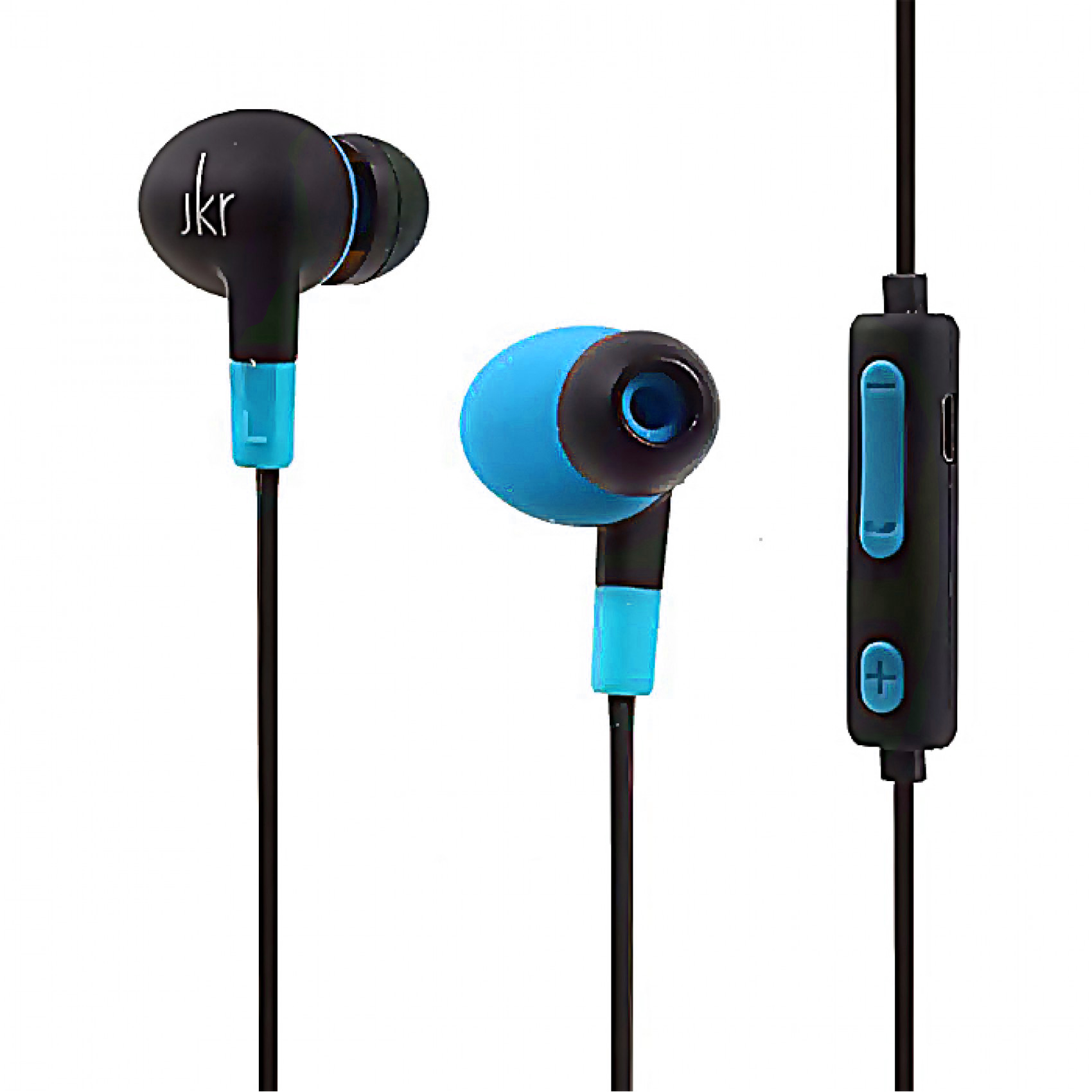 JKR-303A Wireless Bluetooth Sports In-ear Earphone - Blue