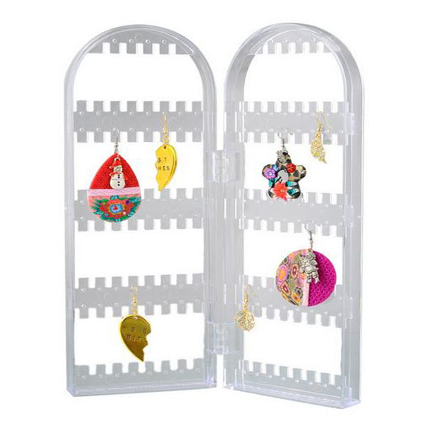 Acrylic Earing Holder Organizer - Transparent