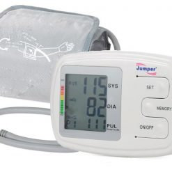 Jumper Digital Upper Arm Blood Pressure Monitor With Voice Prompt - White