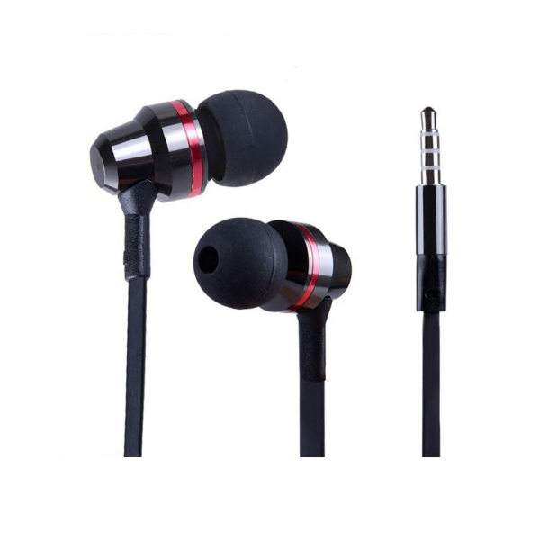 KUCIPA Earphone Headphones Headset With Mic - Black