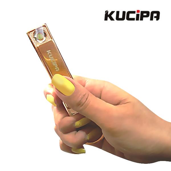 Kucipa Rechargeable Keychain Lighter - Gold