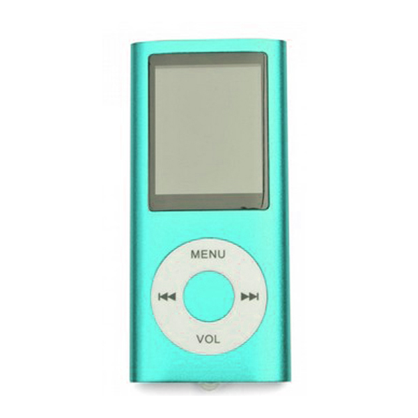 MP4 Multimedia Player with TF Card Slot - Blue