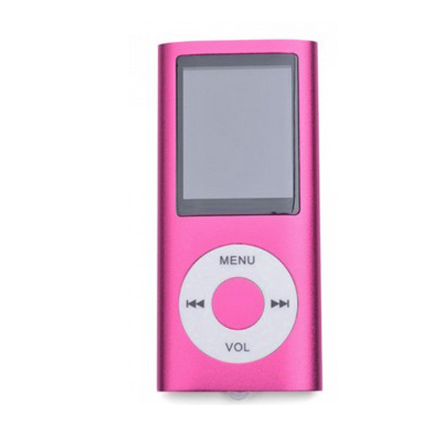 MP4 Multimedia Player with TF Card Slot - Pink