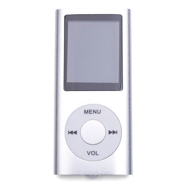 MP4 Multimedia Player with TF Card Slot - Silver