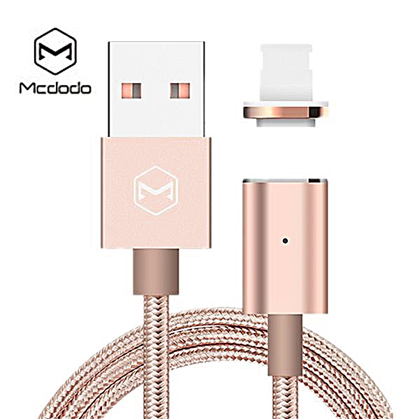 Mcdodo Lightning Magnetic Data Cable Dust Plug - Pink