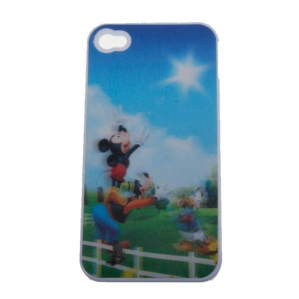 Mickey Mouse 3D Protective case for Iphone 4/4s - White