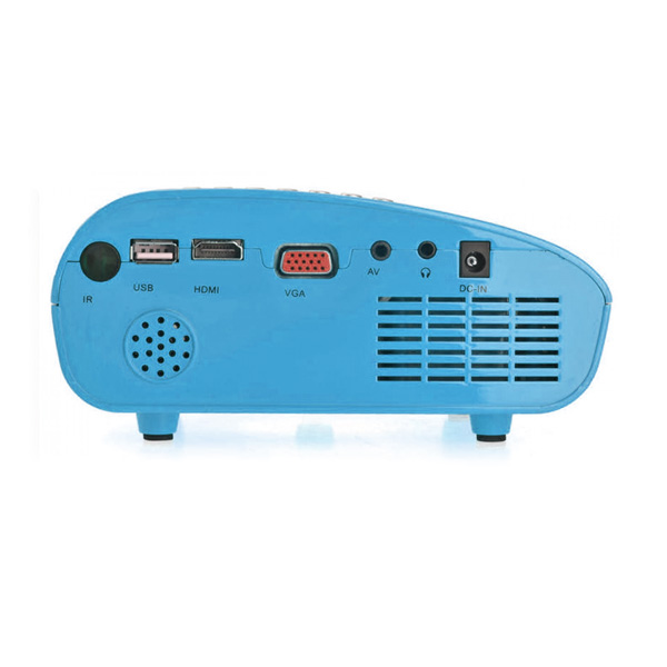 Mini Digital 60 Lumens LED Multimedia - Blue