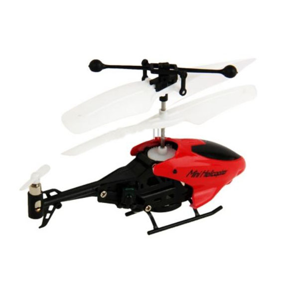 Mini Helicopter Remote Control - Red