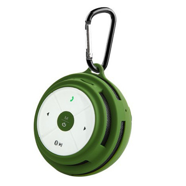 Mini BV200 Portable Bluetooth Handsfree Wireless Speaker - Green