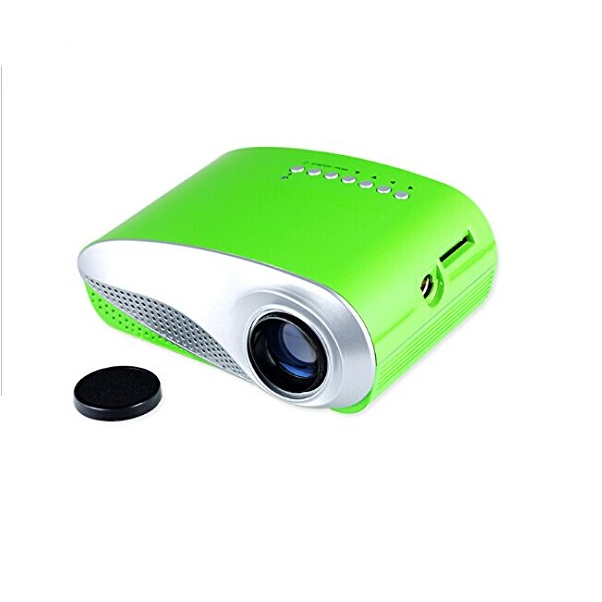 Mini Digital 60 Lumens LED Multimedia  - Green