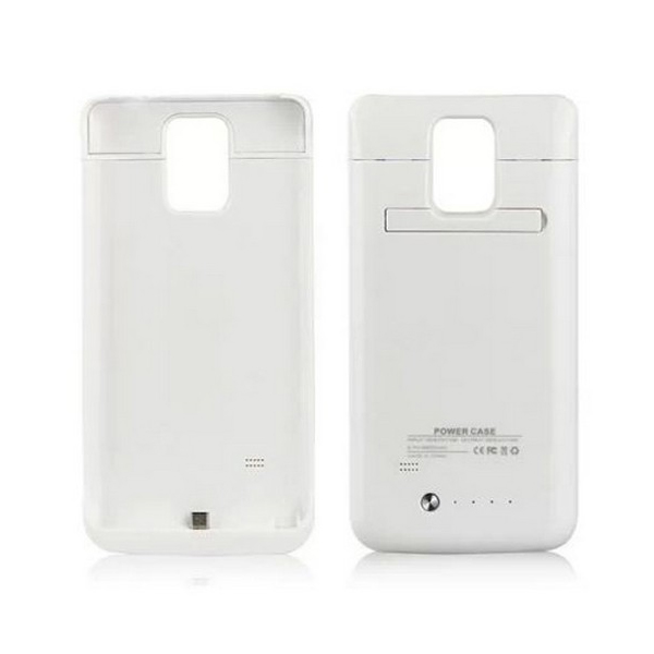 Samsung Galaxy Note 4 4800 mAh Powerbank Case - White