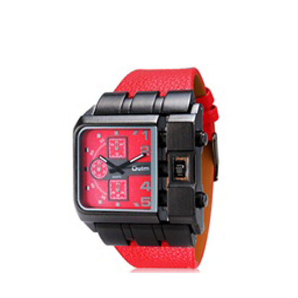 Oulm  Chrono Watch 3364 - Red