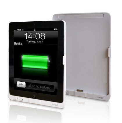 Ipega 8000 mAh External Battery Pack for iPad2 and iPad3 – White