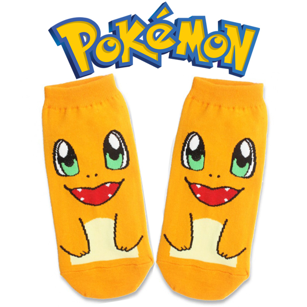 Pokemon Charmander Socks - Orange
