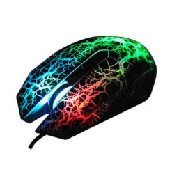 USB Wired Gaming Mouse with Hybrid 7 color LED