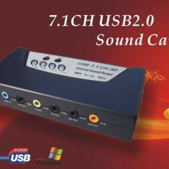 7 in 1 USB  Sound Card