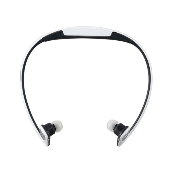 AEC Sports Mp3 Player Headset With FM - White