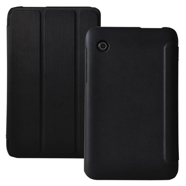 Stand Cover Case for Lenovo A3300 Tablet - Black