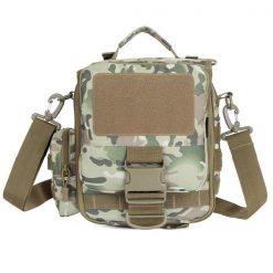 Utility Outdoor Shoulder Cross Body Bag - Green