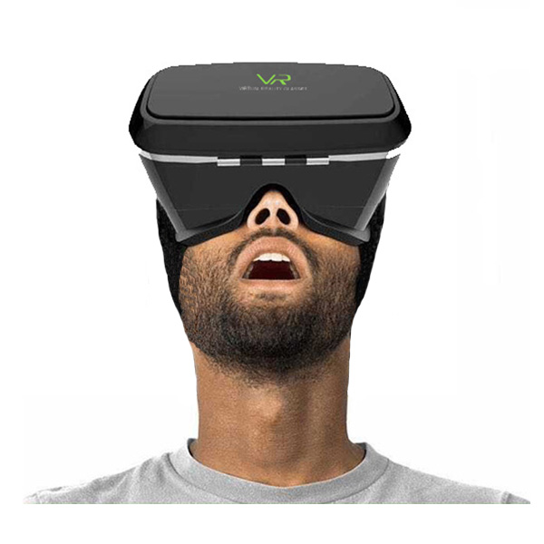 VR Virtual Reality 3D Glasses For Smartphone - Black