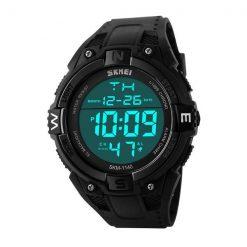 50M Water Resistant Sports Watch - Black